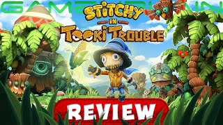 Is Stitchy in Tooki Trouble a Worthy DKC Imitator? - REVIEW (Switch) (Video Game Video Review)