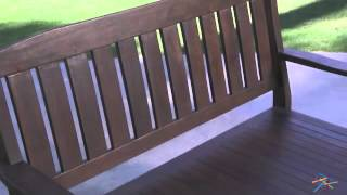 4 Ft. Storage Bench - Product Review Video