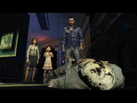 Lee and Clementine Meet Carley, Lilly, Larry & Doug (Walking Dead | Drugstore | Telltale Games)