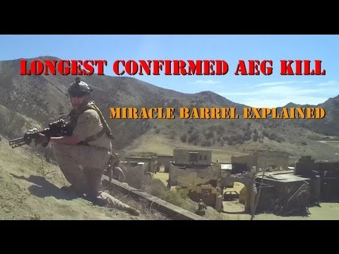 Longest Confirmed AEG Kill and Miracle Barrel Explained - YouTube