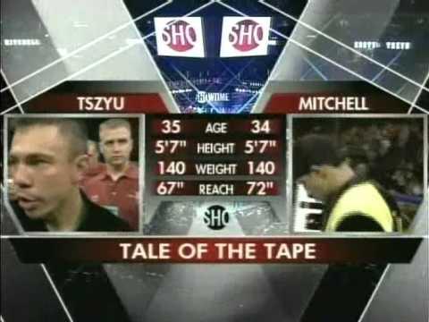 Kostya Tszyu v Shamba Mitchell II 6 November 2004 Phoenix, Arizona, USA