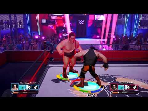 WWE 2K BattleGrounds Ep 11 - Andre the Giant vs Braun Strowman - WWE Championship round 1 Match 1  