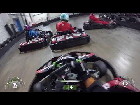 WHAT A RACE! - TopGun Race at TeamSport GoSport 3rd August 2017