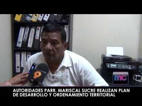 AUTORIDADES PARR  MARISCAL SUCRE REALIZAN PLAN DE DESARROLLO Y ORDENAMIENTO TERRITORIAL