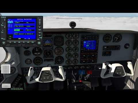 X-Plane 11 - Winter Storm KHFD to KLGA