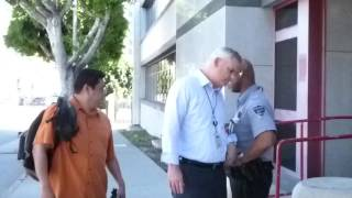 DEA AGENT TRIES TO BLOCK ME FROM WALKING ON SIDEWALK, 1st Amend Audit HIDTA facility