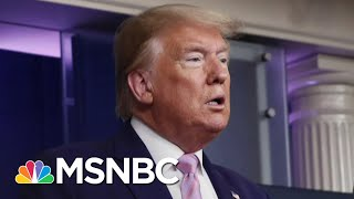 Trump Talks Up Ratings And Social Media Following At Coronavirus Briefings | The 11th Hour | MSNBC