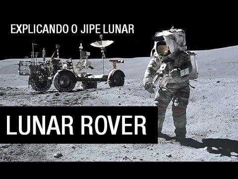 LUNAR ROVER   O JIPE LUNAR