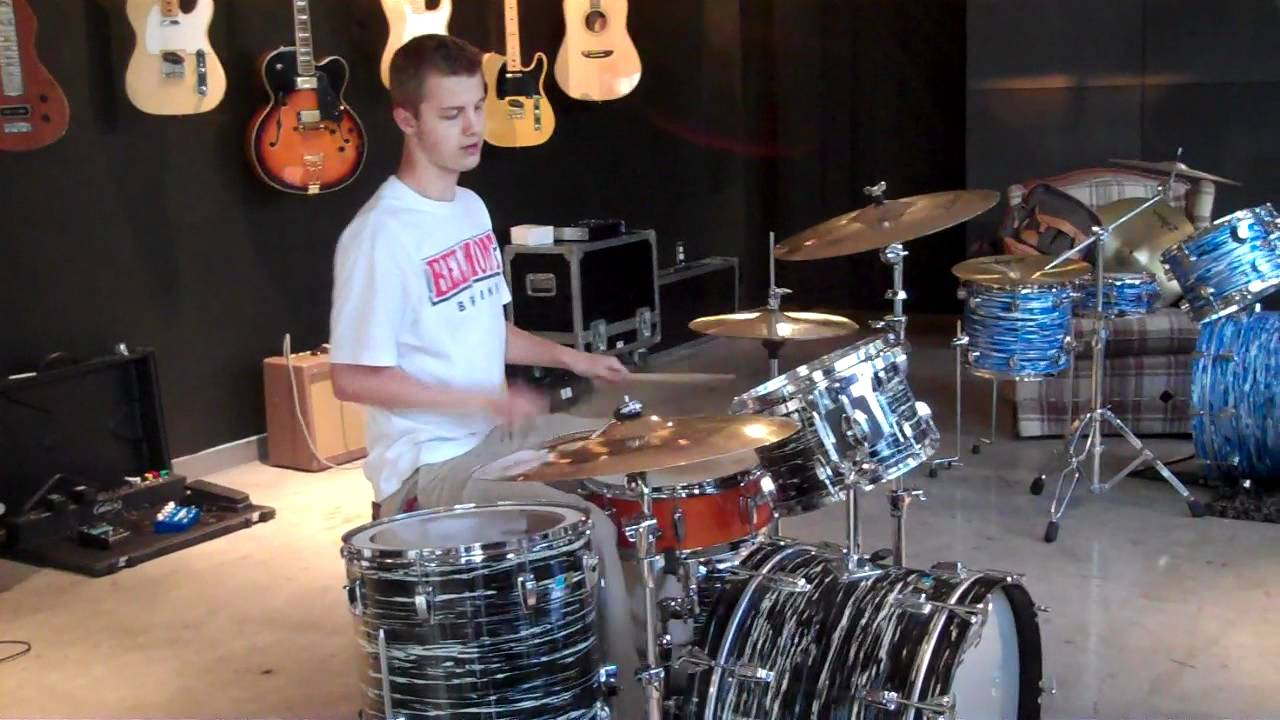 Miles Miller Demos The Ringo Starr Signature Ludwig Kit By Blvdmusicshop
