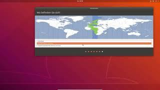 Ubuntu 18.04 Installieren German Deutsch FULLHD