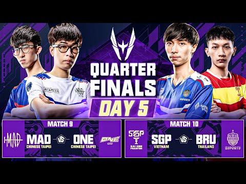 AWC 2021   Quarter Finals   Day 5