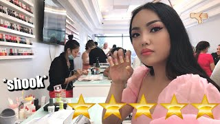 I WENT TO THE BEST REVIEWED NAIL SALON IN MY CITY !!! OMG