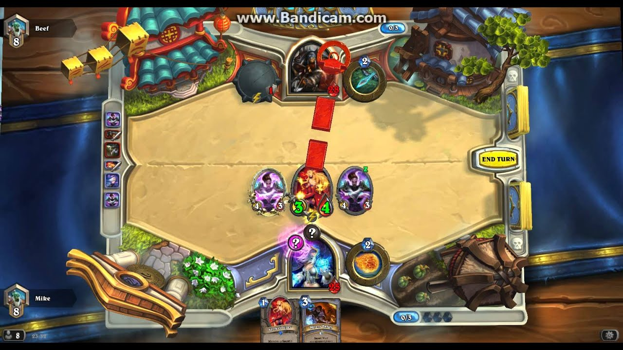 how to build a deck in hearthstone for mage
