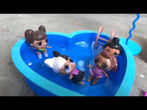 Pool Party!! LOL Surprise Stop Motion