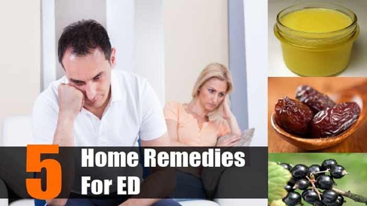 Natural Ways To Overcome Erectile Dysfunction