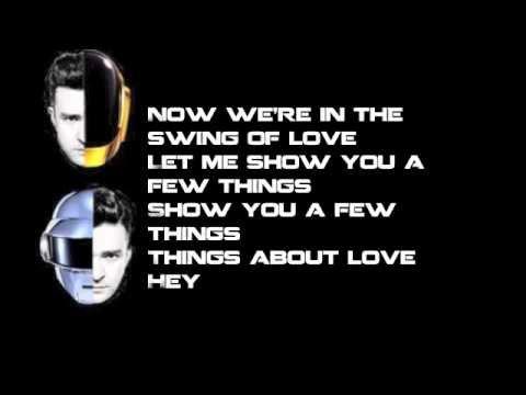 Lucky Suit and Tie - Daft Punk Vs Justin Timberlake Lyrics