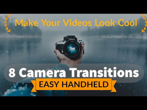 8 EASY IN-CAMERA Video Transition | Simple Cut And Join Transitions