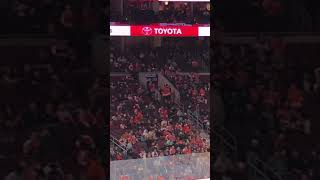 Fans Booing Flyers Mascot Gritty