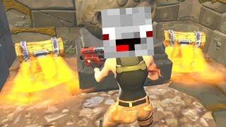 Alphastein findet Geheimversteck mit vielen Kisten in Fortnite Battle Royale