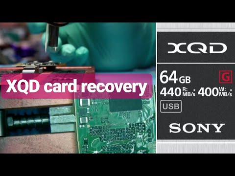 Sony XQD Card Data Recovery