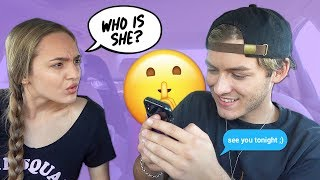 HINTING That I'm CHEATING To See How My Girlfriend Reacts!