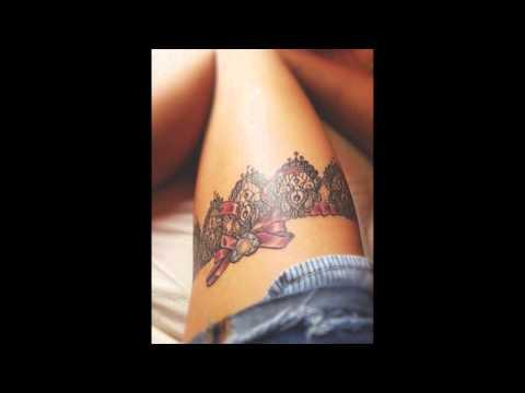 25 Amazing Garter Belt Tattoo Designs Youtube