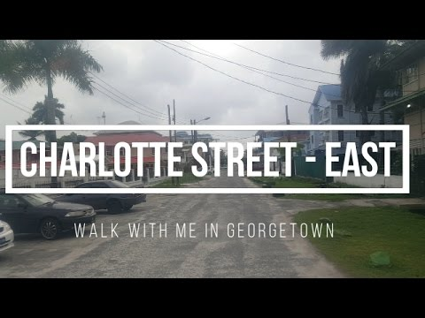 Charlotte Street - East | Walk with me in Georgetown