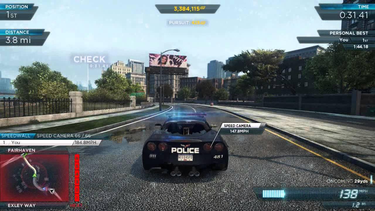 Nfs Most Wanted 2012 Corvette Z06 Police Pursuit Full Pro