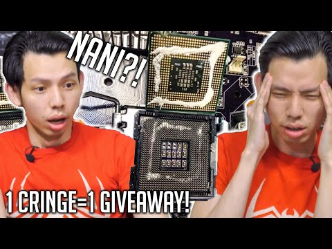 Try Not to CRINGE! (Tech Edition) 1 Cringe = 1 Giveaway
