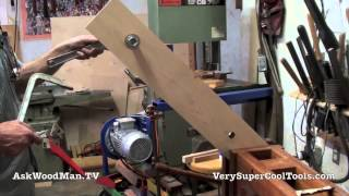Roubo Workbench With Double Moxon Vise • 7 Of 8 • Bronze Bushings