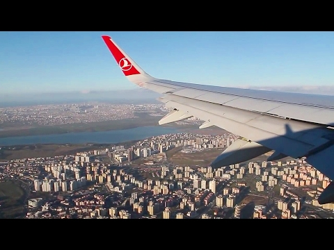 Turkish Airlines A321 Sharklets Istanbul Atatürk-Oslo Safety, Takeoff, Inflight, Landing, TK1751