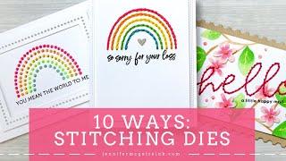 10 Ways: Stitching Dies