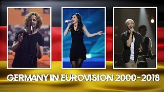 GERMANY IN EUROVISION MY TOP 2000 - 2018