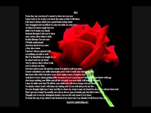 birthday poems youtube