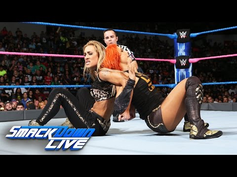 Becky Lynch & Nikki Bella vs. Alexa Bliss & Carmella: SmackDown LIVE, Oct. 4, 2016