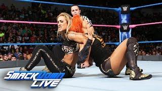 Becky Lynch & Nikki Bella vs. Alexa Bliss & Carmella: SmackDown LIVE, Oct. 4, 2016