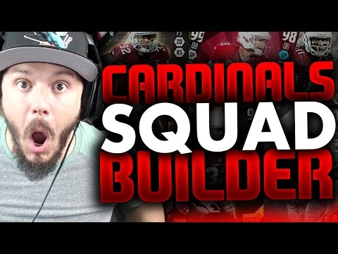 ALL-TIME ARIZONA CARDINALS SQUAD BUILDERS & GAMEPLAY | MADDEN 16 ULTIMATE TEAM