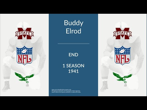 Buddy Elrod: Football End