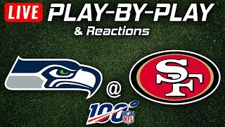 Seahawks vs 49ers | Live Play-By-Play & Reactions