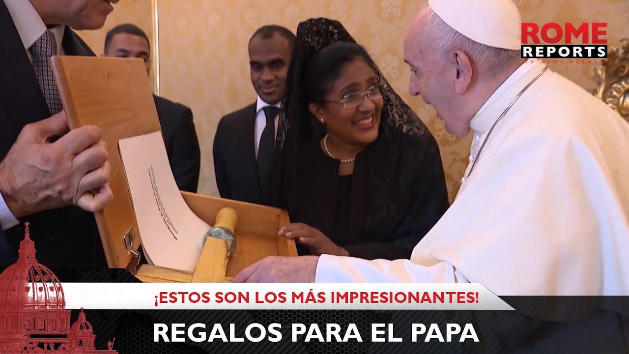 Los regalos más impresionantes que el Papa recibió en 2020