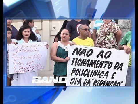 Manifestação reúne cinco bairros contra fechamento de maternidade