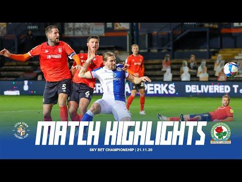 Luton Blackburn Goals And Highlights