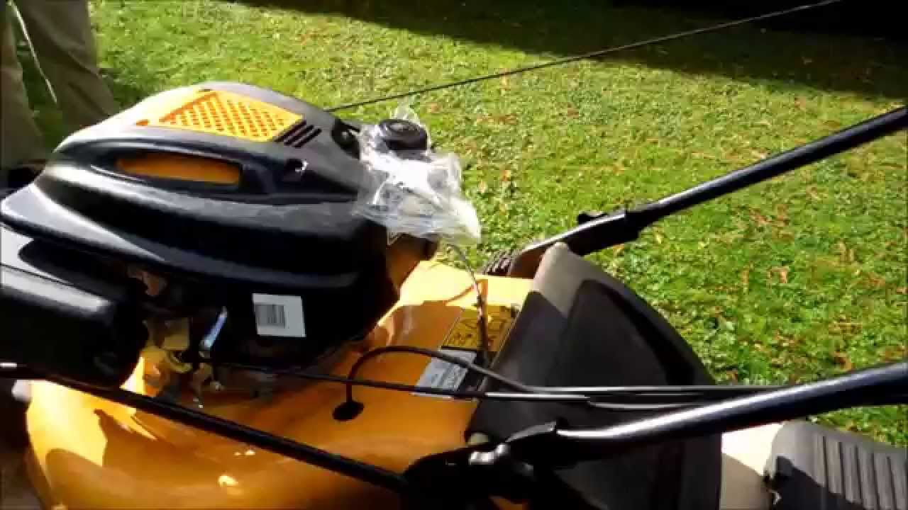 how to change a drive cable on a cub cadet lawnmower [ 1280 x 720 Pixel ]