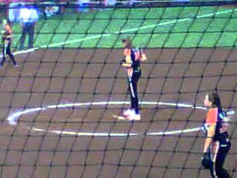 Monica Abbott Pitching at the 2012 Championship Series!