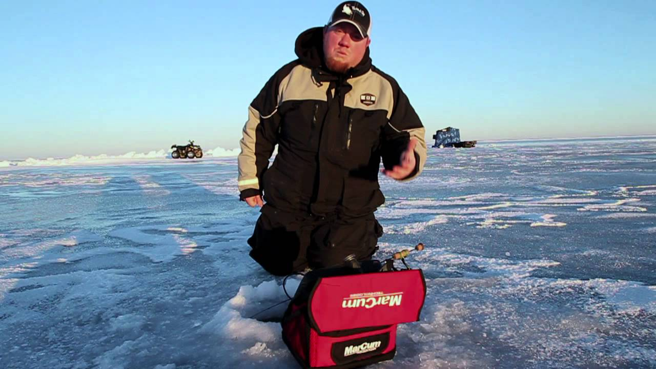 Mille lacs lake ice fishing report youtube for Lake mille lacs ice fishing