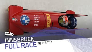 Innsbruck | BMW IBSF World Cup 2020/2021 - 2-Man Bobsleigh Race 2 (Heat 1) | IBSF Official