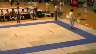 西村洋輝 2013和道会 空手 全国大会 一般男子個人組手有段