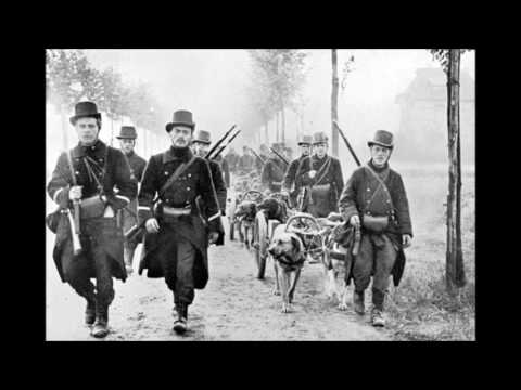 The history of the battle of Mons (22nd August 1914)