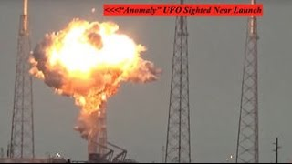 Did A UFO Blow Up SpaceX?  Watch The Slow Motion Footage