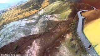 Painted Hills OREGON by drone.